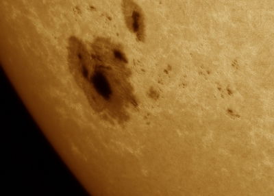 Monster Sunspot