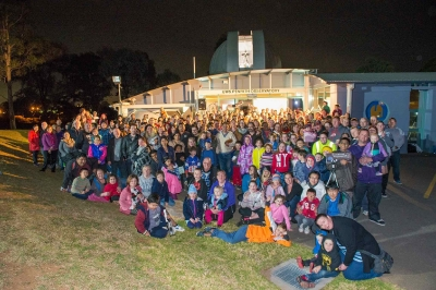 242 Star Gazers at UWS